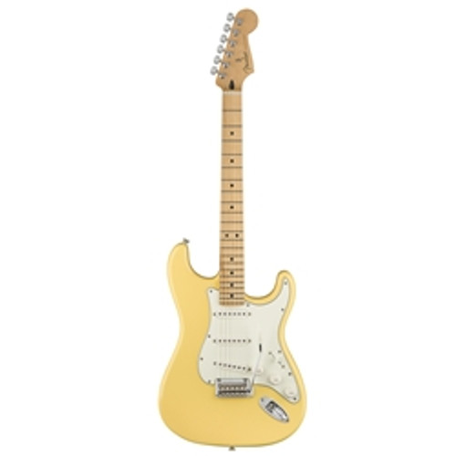 Player Stratocaster - Buttercream with Maple Fingerboard