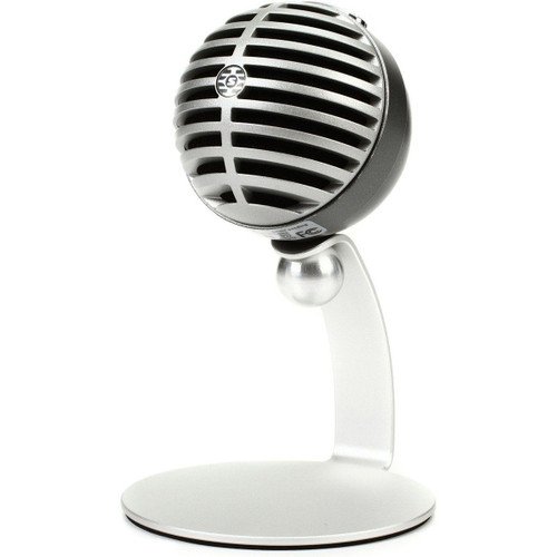 MV5 Digital Condenser Microphone - Silver (MV5LTG)
