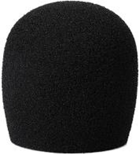 Nomad Microphone Wind Screen for Round Ball, Black SM58