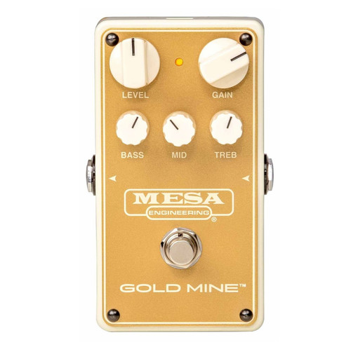 GOLD MINE - Overdrive Pedal