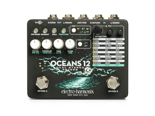 Oceans 12 Dual Stereo Reverb