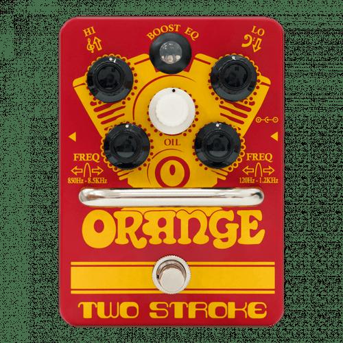 Orange TWO STROKE EQ Boost Pedal