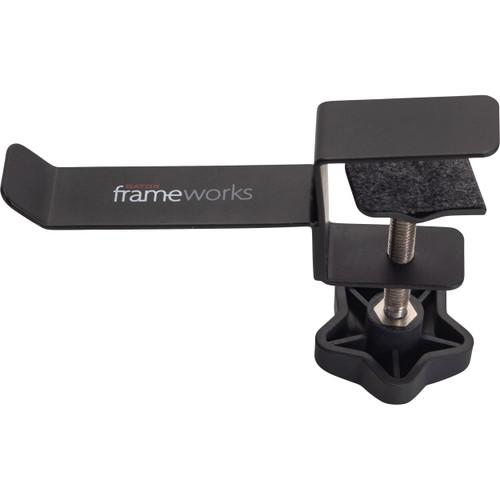 Gator Frameworks Headphone Hanger for Desks (GFW-HP-HANGERDESK), Black