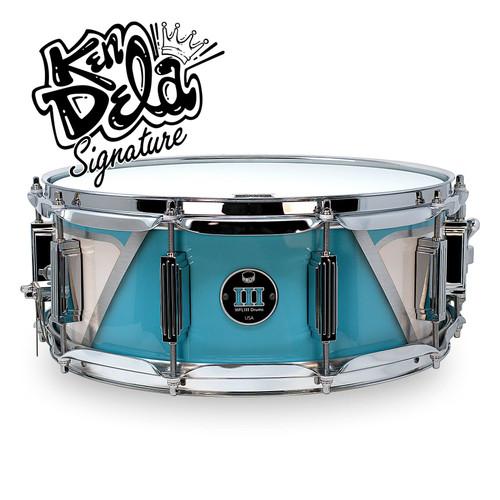 "Ken Dela ""BelAire"" 5.5 x 14 Snare - Blue"