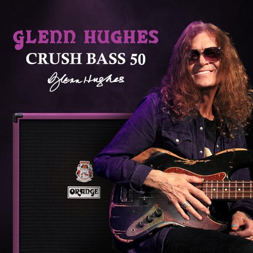 "Crush Bass 50 Watt 1 x 12 Combo - Purple ""Glenn Hughes"""