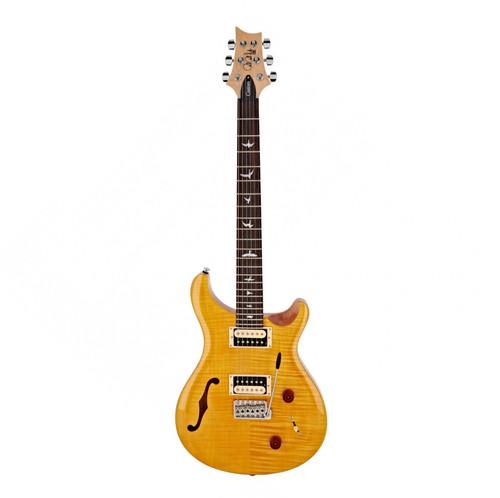 SE Custom 22 Semi Hollow - Santana Yellow