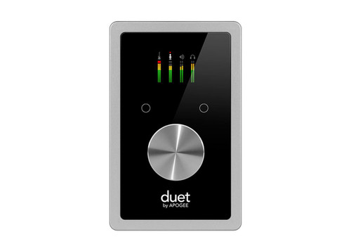 APOGEE DUETM 2 x 2 USB Audio Interface w/ Waves Silver Bundle