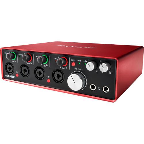 FOCUSRITE Scarlett 18i8  USB Audio Interface (Gen 3)