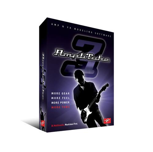 IK MULTIMEDIA AMPLITUBE3 Guitar Amp simulation software