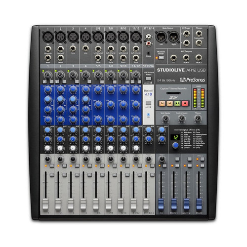 PRESONUS AR12 14-Channel Digital/Analog Mixer