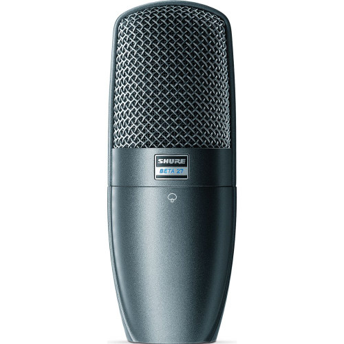 Shure BETA27 Large diaphragm supercardioid condenser mic