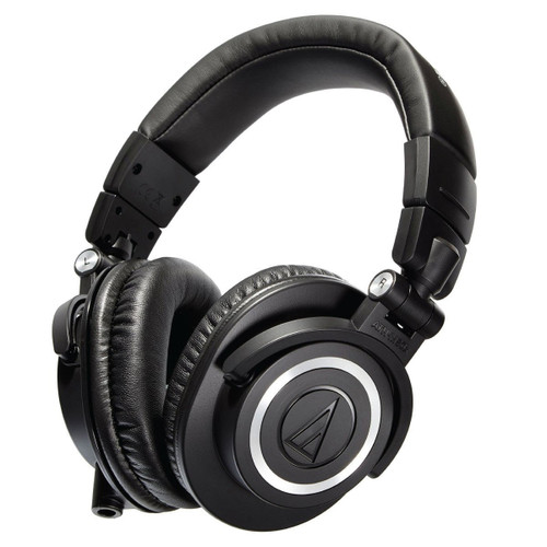 Audio-Technica ATHM50X Closed Back dynamic Monitor Headphones