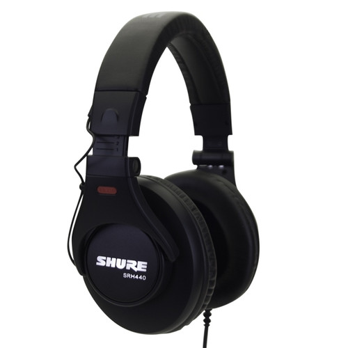 Shure-SRH440-Closed-Back-headphones