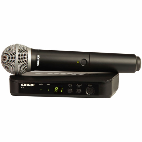 Shure BLX24PG58 Wireless Handheld Mic