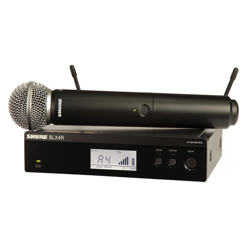 Shure BLX24RSM58 Wireless microphone system at Big Dudes Music City