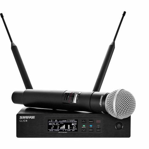 Shure QLXD24SM58 Handheld Wireless System