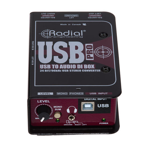 Radial USBPRO Stereo DI