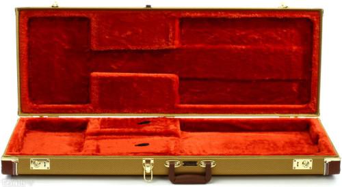 FENDER 0996105300 Pro Series Strat-Tele Tweed Case