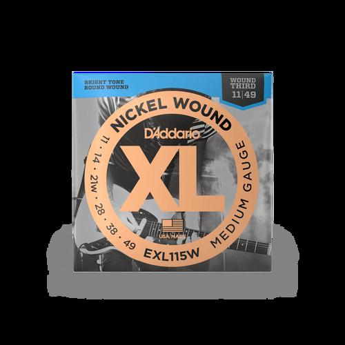 D'Addario EXL115W 11-49 Strings