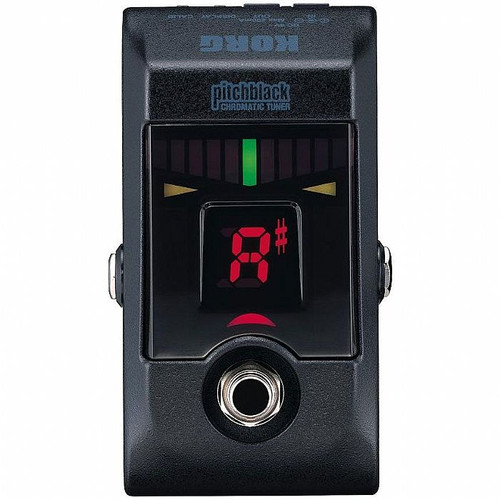 Korg PB01B Pitchblack Chromatic Pedal Tuner