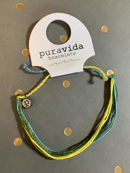 Pura Vida Bracelet, Custom Bryn Mawr Colors