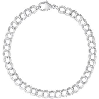 """Charm Bracelet 8"""" Double"""
