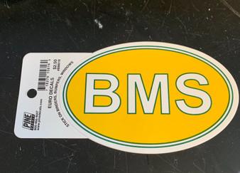 Decal BMS Oval