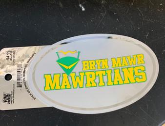 Decal Oval Bryn Mawrtians