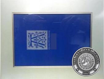 Frame 8x10 Pewter Seal