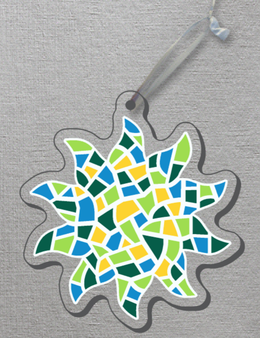Ornament Mosaic Acrylic