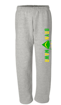 ADULT LARGE ONLY Sweatpants Grey Fleece-Lined