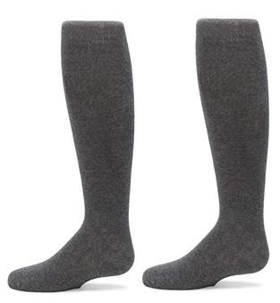 Knee High Grey Flat 4-10