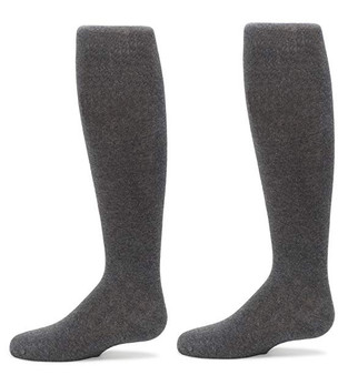 Knee High Grey Flat 12-5.5