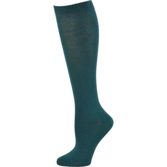 Knee High Green Flat 4-10