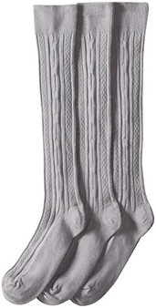 Knee High 9-2 1/2 Grey Cable