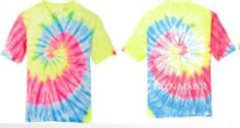 Tie Dye Bright Daisy T-Shirt Youth (Small Only)