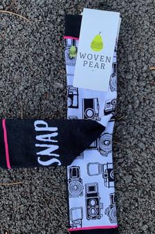 "Socks ""OH SNAP"""