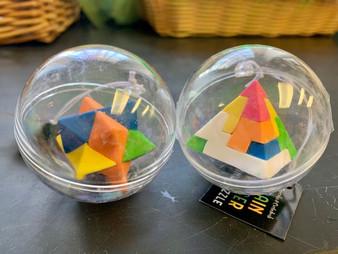 Brain Teaser Mini Eraser Puzzle