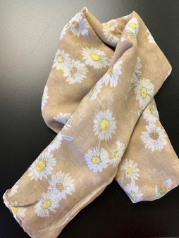 Daisy Scarf Taupe