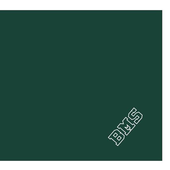 Green fleece, green/white tackle twill BMS