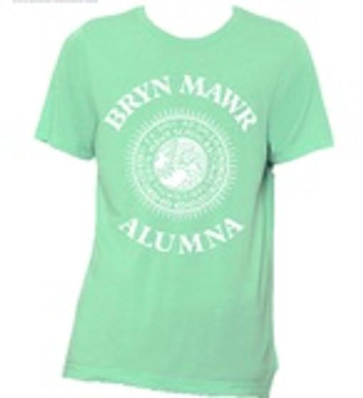 WOMEN'S Alumna Seal T Shirt Green or Cobalt