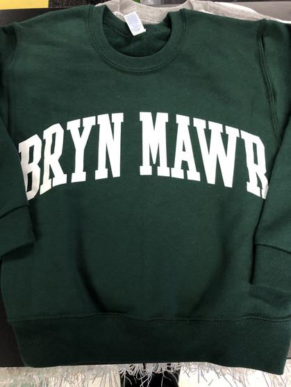 Sweatshirt Uniform Green YOUTH/ADULT