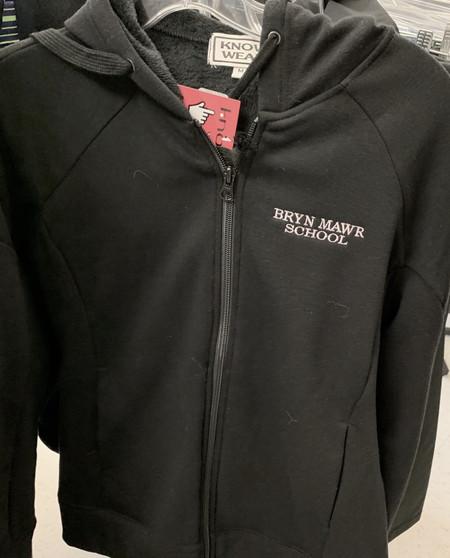 Jacket Full Zip Black Hoodie