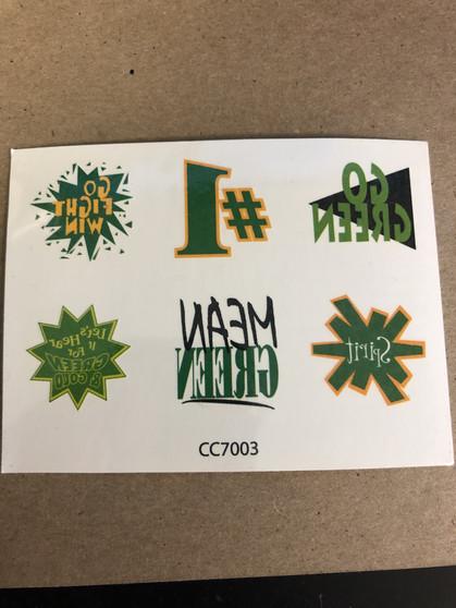 Spirit Tattoos- Go Green
