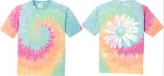Tie Dye Pastel Daisy T-Shirt Youth