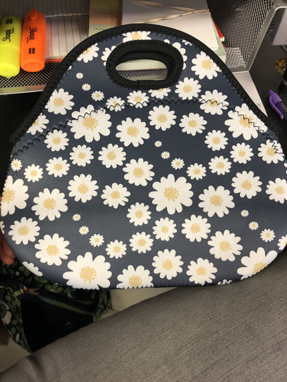 Small Daisy Lunch Bag