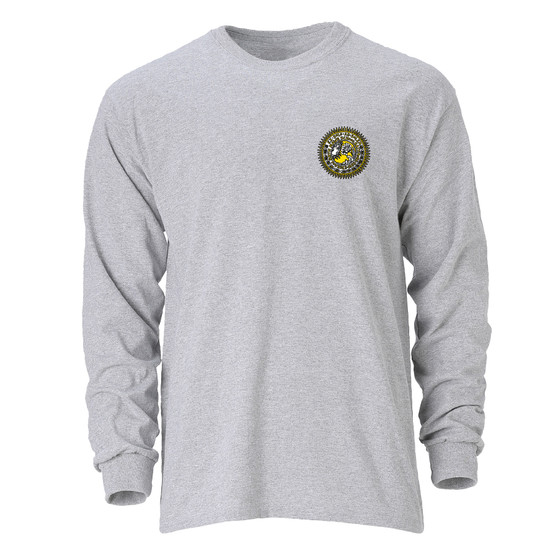 Long Sleeve T Shirt SEAL Oxford Gray