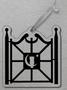Ornament Owl Gate Acrylic