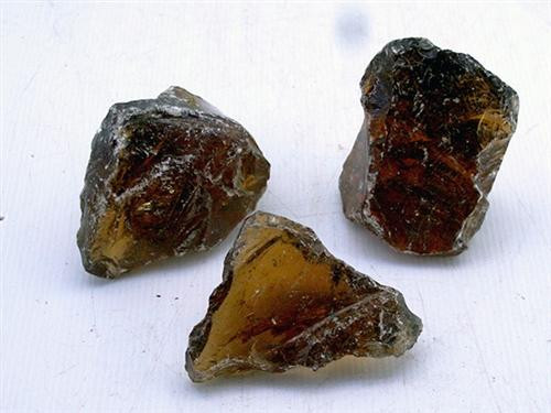 Amber Glass Rock (per Pound)