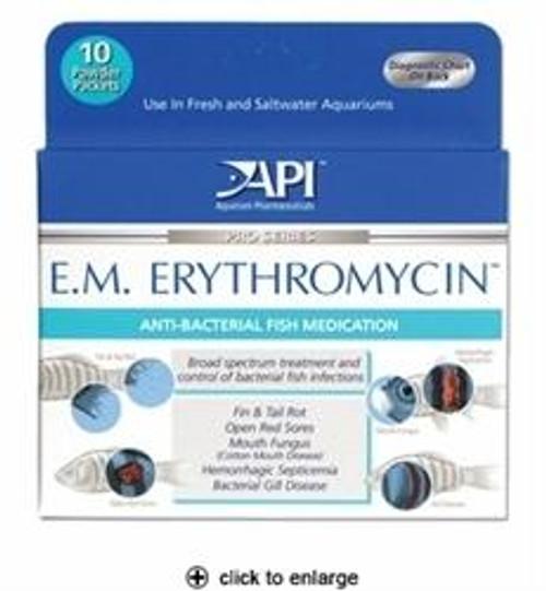 API EM Erythromycin Powder Packets